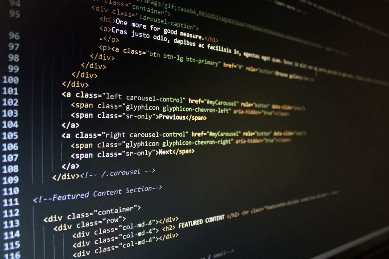Website Coding HTML CSS