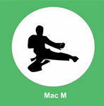 "Mac manager ""Mac M"" catalog icon"