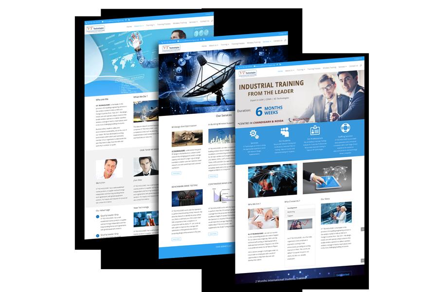 Portfolio VT Technologies Mohali