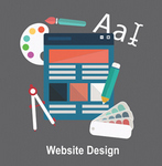 Website Designing catalog icon