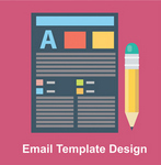 e-mail template desin catalog icon
