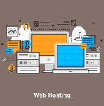 web hosting catalog icon