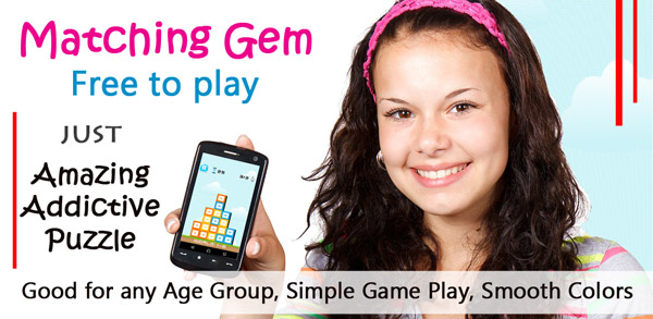Matching Gem android puzzle game play