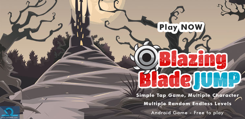 Blazing Blade Jump – Android Game App