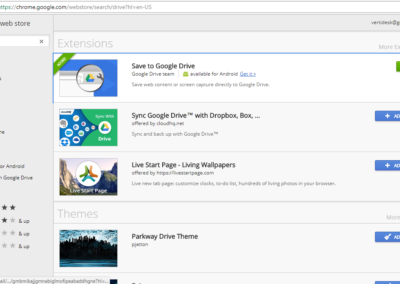 Google Drive Browser Extension Screenshot_1