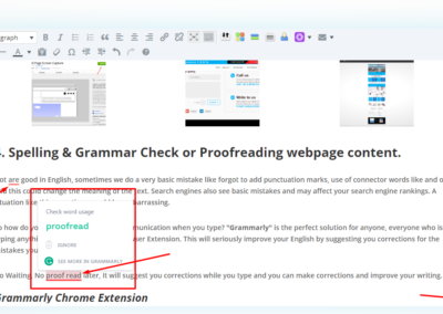Grammarly spellcheck extension Screenshot_3