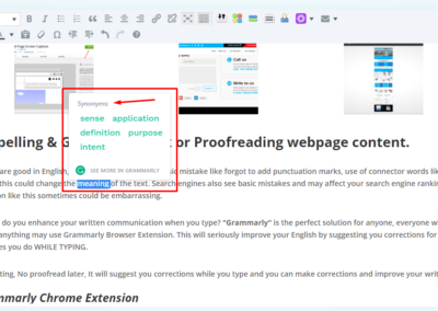 Grammarly spellcheck extension Screenshot_4