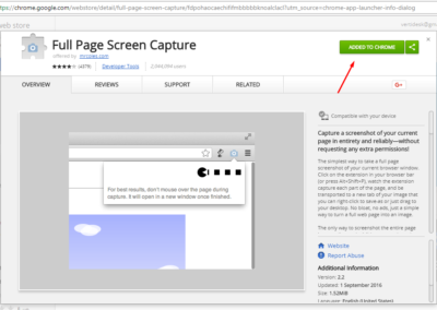 full page screen capture chrome extension Screenshot_1