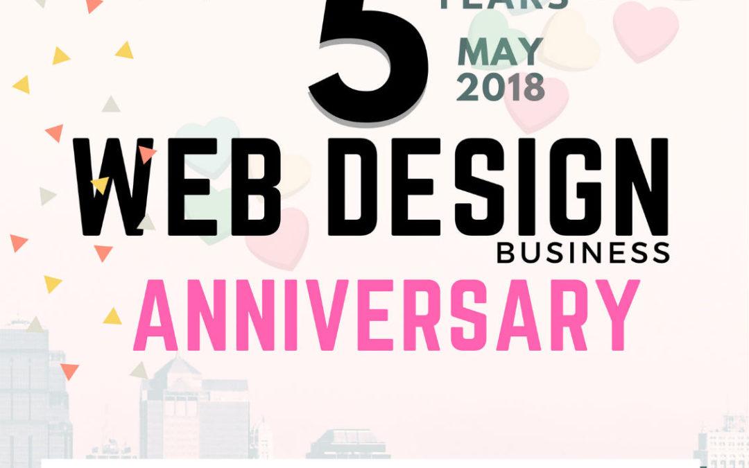Celebrating 5 Years Anniversary May 2018