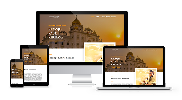 Project Portfolio kiran jeet kaur responsive website design